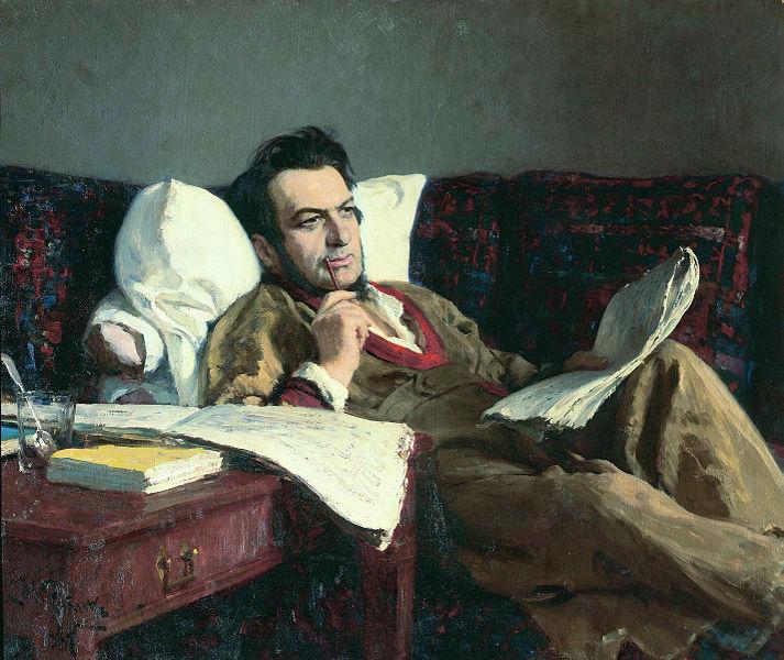 Glinka by Ilya Repin