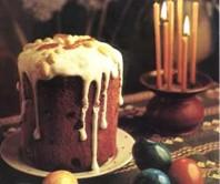 Russian Easter kulich