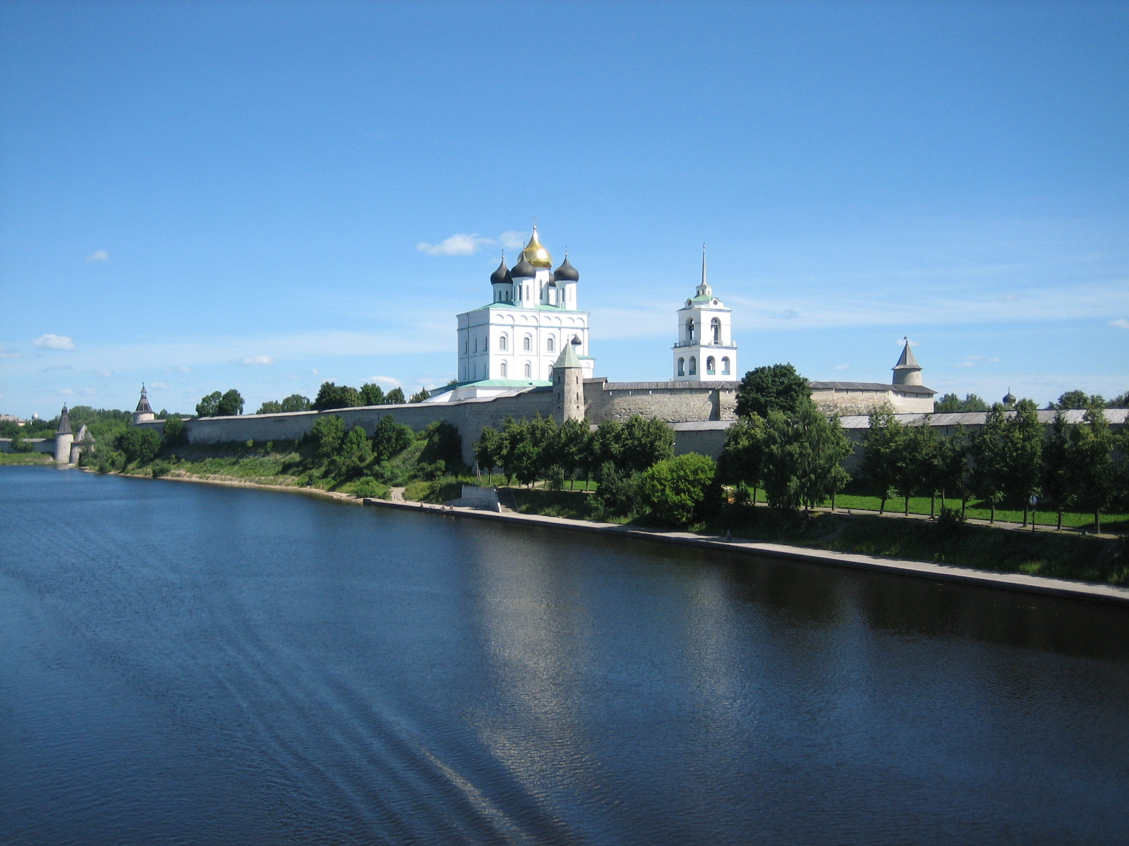 Troizkiy cathedral Pskov Russia