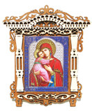 Godmother Small Framed Orthodox Russian Icon