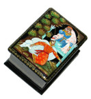Princess Palekh Miniature Lacquer Box
