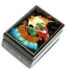 Sadko Miniature Palekh Lacquer Box