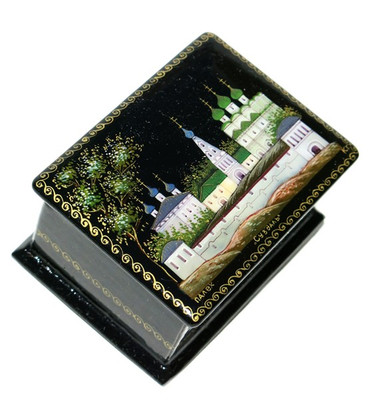 Suzdal Miniature Palekh Lacquer Box