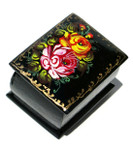 Orange Rose Miniature Souvenir Box