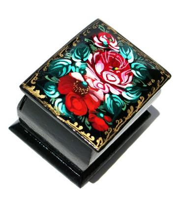 Red Roses Miniature Souvenir Box