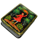 Magic Feather Russian Kholuy Lacquer Box