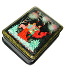 Russian Kholuy Lacquer Box Admirer