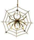 Spider Swarovski Crystals 24K Gold Ornament