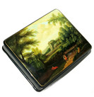 "Fedoskino Lacquer Box ""Landscape"" Main View"