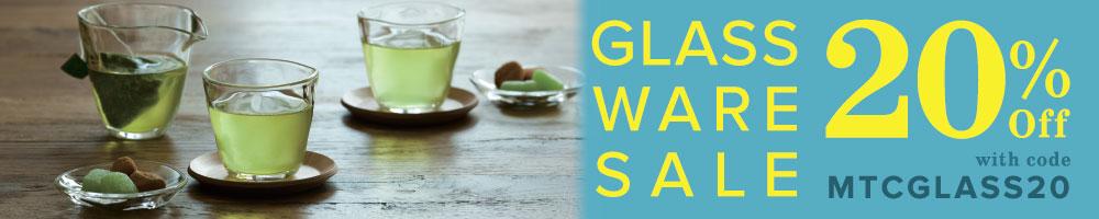 20% Off Glassware Sale
