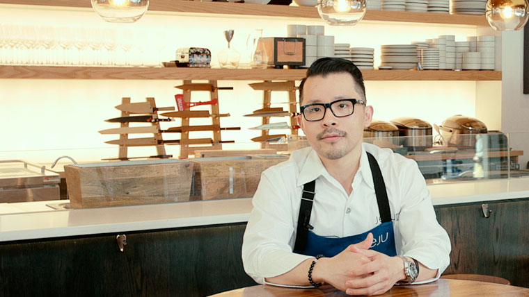 Douglas Kim The Chef/Owner of Michelin-starred JEJU Noodle Bar
