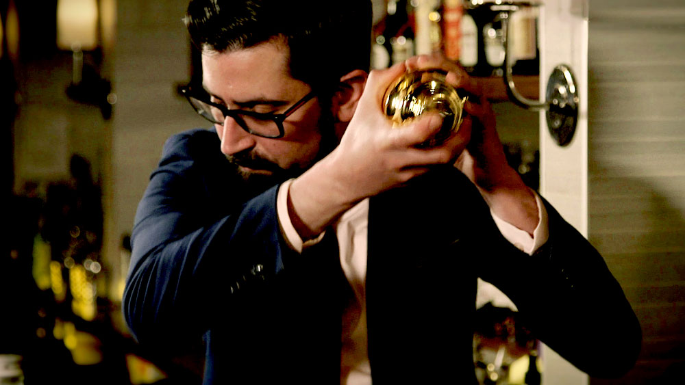 Frank Cisneros's fascination with Japanese style bartending
