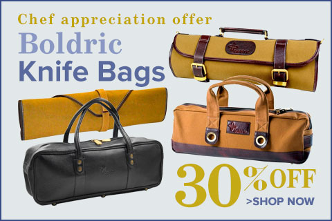 30% Off Boldric Knife Bags