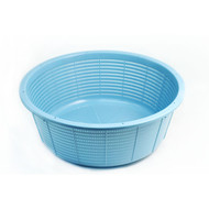 "Heavy Duty Rice Colander 16 3/4"" dia"