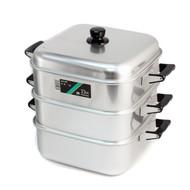 Aluminum 3-Tier Steamer