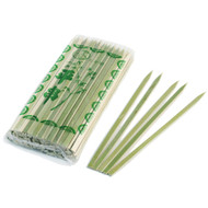"7 1/8"" Flat Bamboo Skewers (100/pack)"