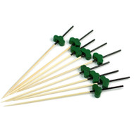 "4 3/4"" Decorative Green Pine Tree Picks (100/pack)"