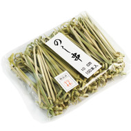 "3 1/2"" Knotted Bamboo Skewers (100/pack)"