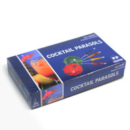 "3 1/2"" Cocktail Parasol Picks (144/box)"