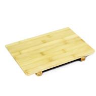 "Bamboo Sushi Geta Plate 9 1/2 x 5 7/8"""
