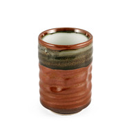 15% OFF with code MTCMATCHA15 - Sage Green & Clay Red Tea Cup