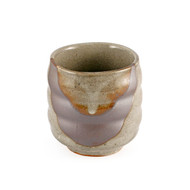 Gray Brushstroke Tea Cup