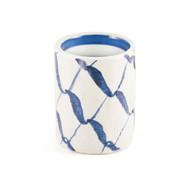 Blue Weave Tea Cup