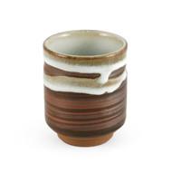 15% OFF with code MTCMATCHA15 - Gray Swirl Tea Cup