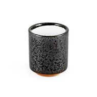 15% OFF with code MTCMATCHA15 - Grainy Black Tea Cup with White Interior