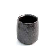 Matte Black Tea Cup