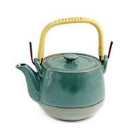 Jade Green Teapot 20 oz