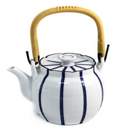 Striped Teapot 42 oz