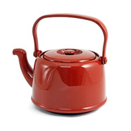 Clay Red Melamine Teapot 60 oz