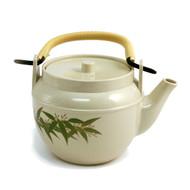 Bamboo Leaf Melamine Teapot 32 oz