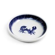 "Crab Soy Sauce Dish 3.75"" dia"