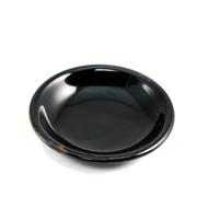 """Tenmoku Glazed Black Soy Sauce Dish 3.5"""" dia"""