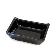 """Blue Tenmoku Glazed Soy Sauce Dish 3 1/2"""" x 2 3/8"""""""