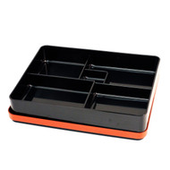 Black Bento Box with Red Trim