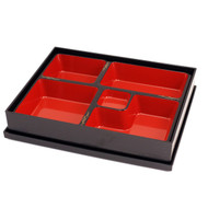 "Bento Box with Gold Design 12.2"" x 9.76"""