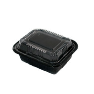 "TZ-805K Kamome Bird Take Out Sushi Tray 5 1/3"" x 4 1/3"" (50/pack)"