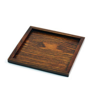 "Square Tray 6 1/2"" x 6 1/2"""