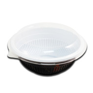 "Momiji Leaf Take Out Bowl 36 oz / 7.5"" dia (50/pack)"