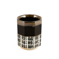15% OFF with code MTCMATCHA15 - Sushi Kanji Tea Cup with Black Trim