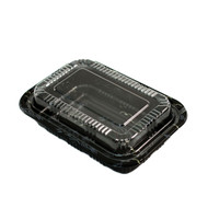 "TZ-810K Kamome Bird Take Out Sushi Tray 7 1/3"" x 5 1/8"" (50/pack)"