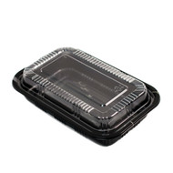 "TZ-815K Kamome Bird Take Out Sushi Tray 8"" x 5 1/5"" (50/pack)"