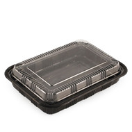 "TZ-825K Kamome Bird Take Out Sushi Tray 9.2"" x 6.5"" (50/pack)"