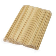 "9 1/2"" Disposable Bamboo Chopsticks (100 pairs/pack)"