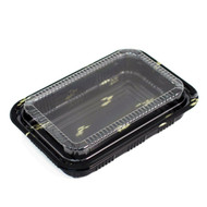 "CZ-6 Take Out Sushi Tray 7 1/4"" x 5 1/8"" (50/pack)"