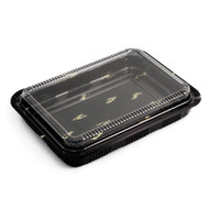 "CZ-10 Take Out Sushi Tray 10.25"" x 7.5"" (50/pack)"