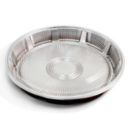 "Z-63 Round Take Out Platter 12.2"" dia (20/pack)"
